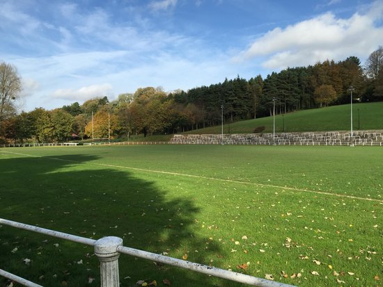 Pontypool Park: The rugby pitch