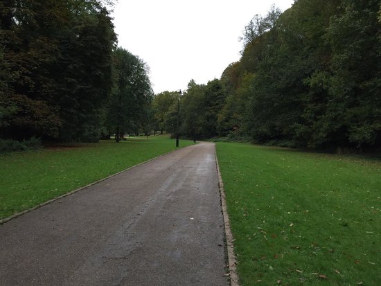 Pontypool Park: Park gates entrance