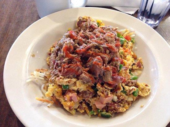 The Breakfast Club: Breakfast bowl. OMG!!!