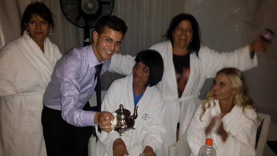 Lina Ryad & Spa: Ibrahim, the hotel staff