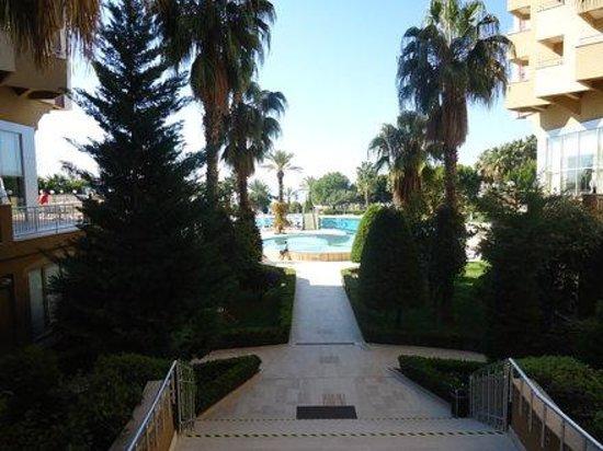 Hotel Terrace Beach Resort: вид на бассейн