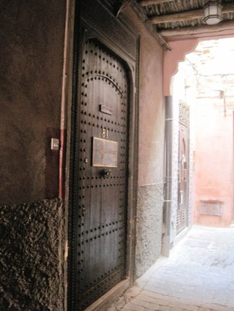 The entrance of Riad Kerdouss