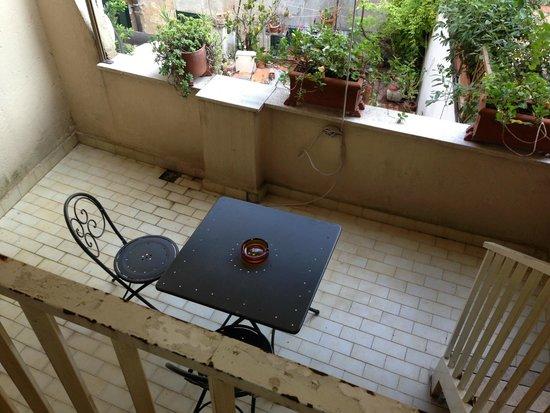 Hotel De Petris: terrazzo