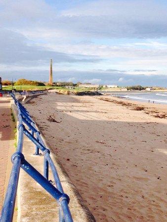 Spittal beach, looking towards Berwick upon Tweed.