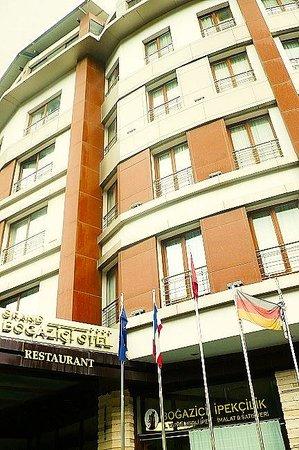 Grand Bogazici Hotel, Antakya, Turchia: facciata ingresso