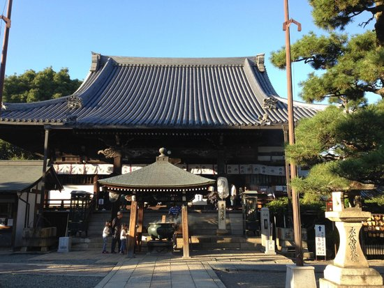 Fujii-dera Kannon Temple: 葛井寺本堂