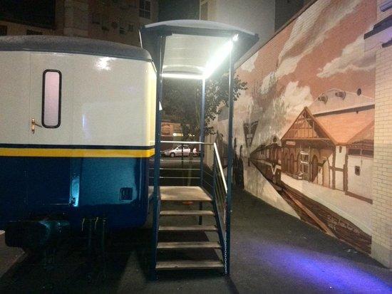 Vag n y mural picture of restaurante el vagon miranda for El mural restaurante puebla