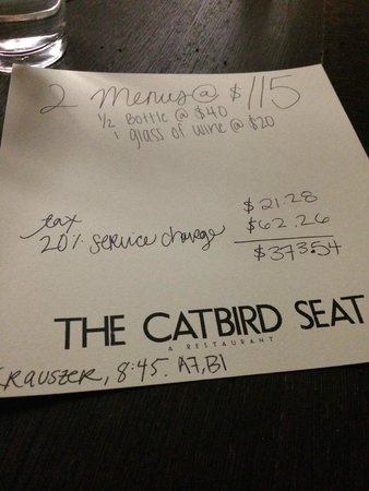 The Catbird Seat: wow