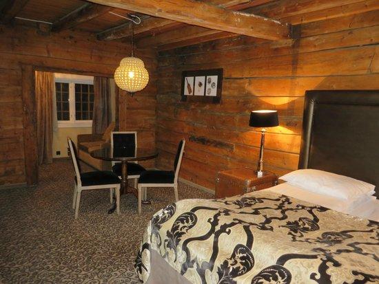Vue suite 340 picture of the hanseatic hotel bergen for Designhotel in den bergen