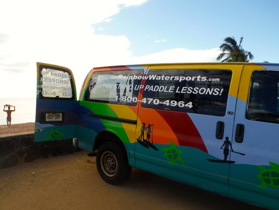 Stand Up Paddle Lessons -- Rainbow Watersports Adventures: Rainbow Watersports!