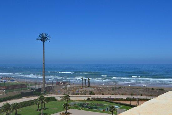 Pestana Casablanca: Panorama dall'ingresso dell'hotel