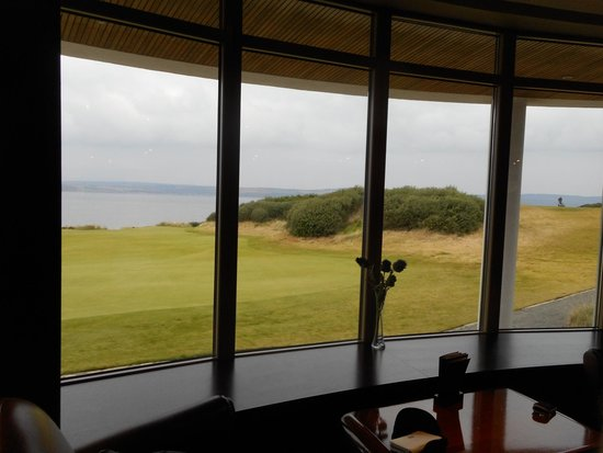 Castle Stuart Golf Links: View from the clubhouse
