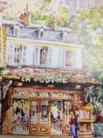 La Poutre: la cartolina del locale