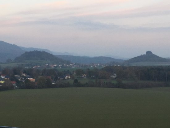 Panoramahotel Wolfsberg: The Noth Eastern view from the room late afternoon 28th October, 2014