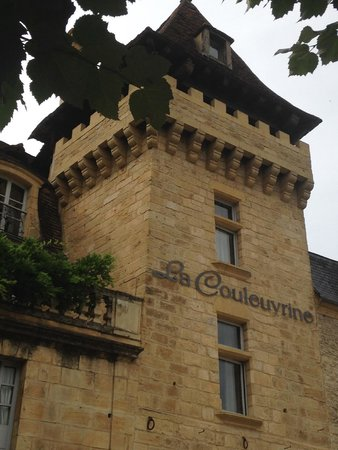 Hôtel La Couleuvrine : la couleuvrine- façade