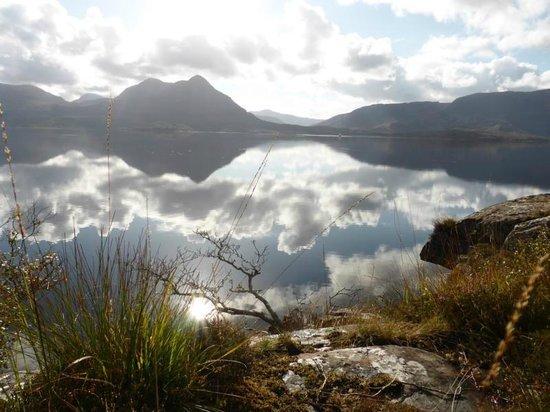 Alligin, UK: Blick über Loch Torridon