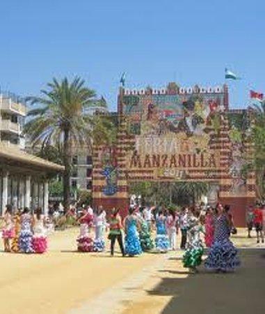 Sanlúcar de Barrameda, España: Portada de la Feria