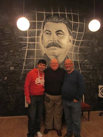 TRAP Prague: The Three Musketeers meet Stalin having escaped!!