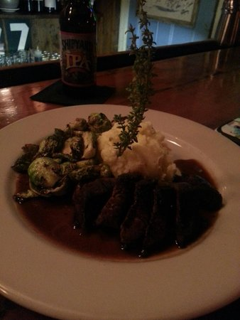 The Ramp Bar and Grill: The steak was delicious