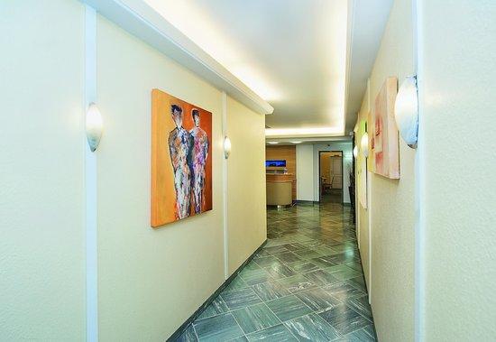 Comfort Garni Hotel Stadt Bremen : Eingangshalle