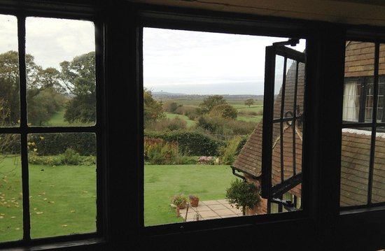 Cleavers Lyng : View from The Sunny Room (Pevensey Levels in distance)