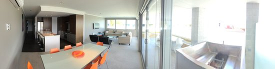 Sacred Waters Taupo Luxury Apartments: Panoramic