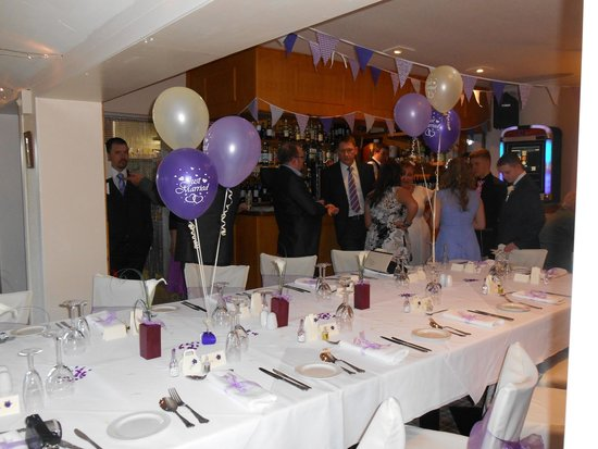 Hebridean Hotel : wedding reception