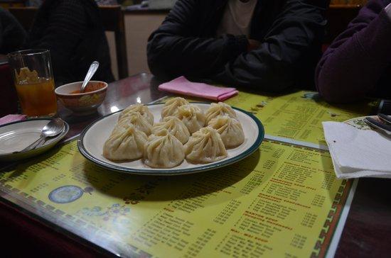 Kunga Restaurant: Steamed Momos