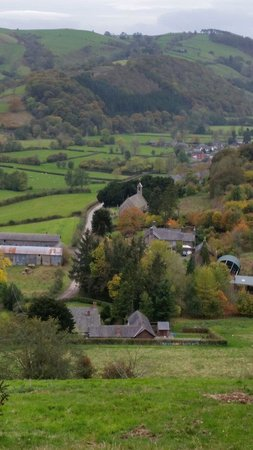 Church Stoke, UK: Views await you if you venture along offa's dyke... who wouldn't! All within 20 mins or thereabo