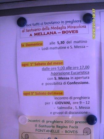 Boves, Italien: indicazioni importanti