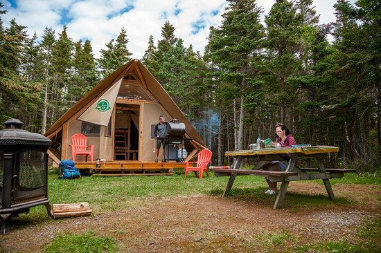 Camping In An Otentik Picture Of Gros Morne National