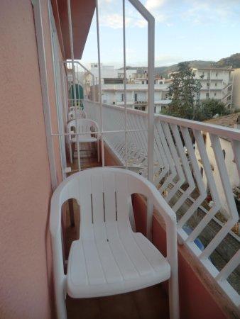 Hotel Hermes: balcon