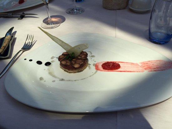 La Maison du Prussien: Starter : blood pudding