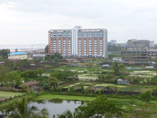 Ocean Paradise Hotel & Resort: Blick vom Balkon