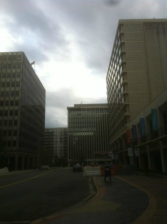 Crystal City Marriott at Reagan National Airport : The Hotel from Outside