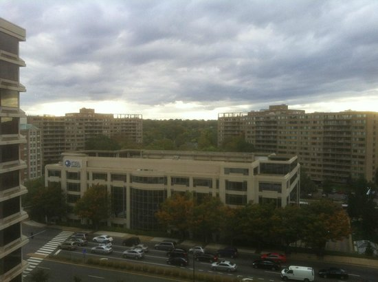Crystal City Marriott at Reagan National Airport: View from Room