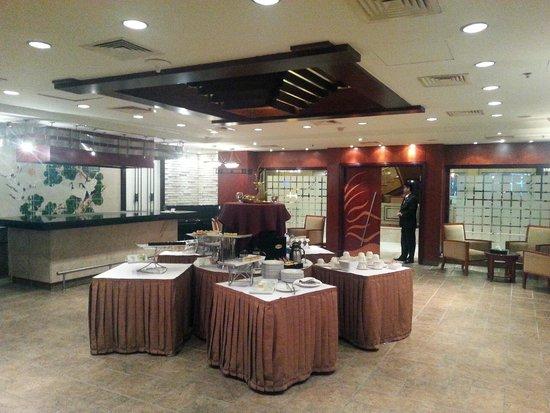 Safir Hotel Cairo: Asian restaurant (Teppanyaki) cleared for VIP lounge