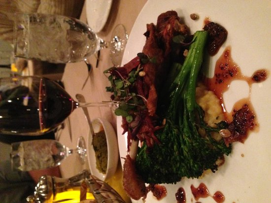 Terra Bistro: Grilled Heluka Pork Chop