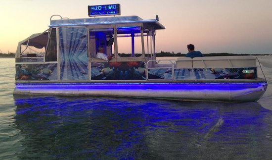 H2O Limo Florida : Sunset Cruises Englewood to Stump Pass Beach