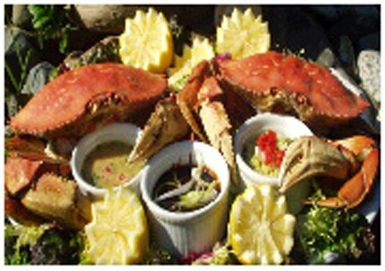 Annie Mae Lodge: Fresh Dungeness Crab
