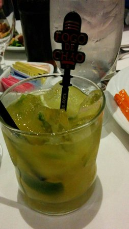 Fogo de Chao Brazilian Steakhouse : A delicious tropical drink