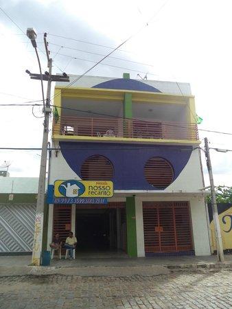 Ipu, CE: Frente da Pousada Nosso Recanto Ipú