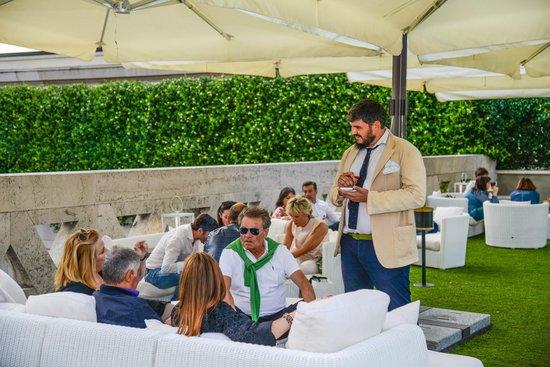 Terrazza Picture Of Hotel Vittoria Brescia Tripadvisor