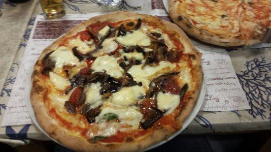 Squisy Pizza: Pizza Muligna'!!!