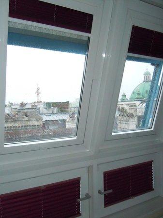 Graben Hotel: 部屋からの眺め