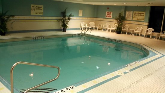 Homewood Suites by Hilton Toronto Airport Corporate Centre: Heated Pool