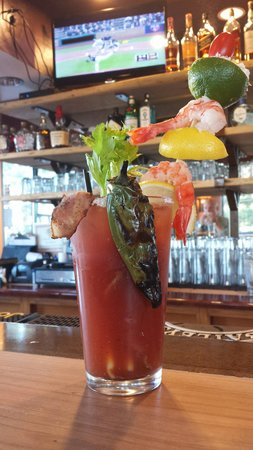 Destination Grill: Best Bloody Mary Ever