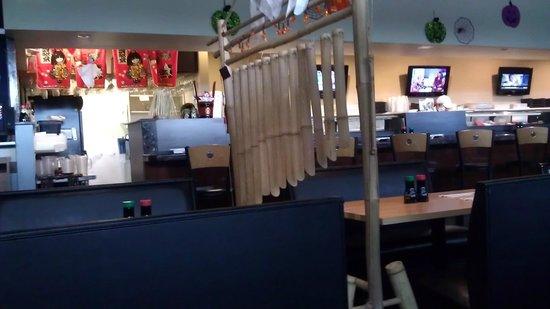 Inside Decorations Picture Of Origami Sushi Tampa Tripadvisor