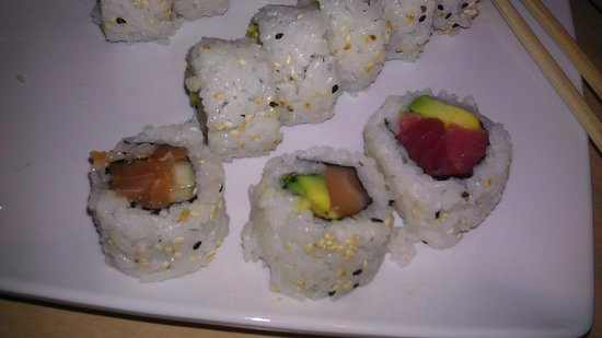 Generous Amount Of Fish In The Rolls Picture Of Origami Sushi