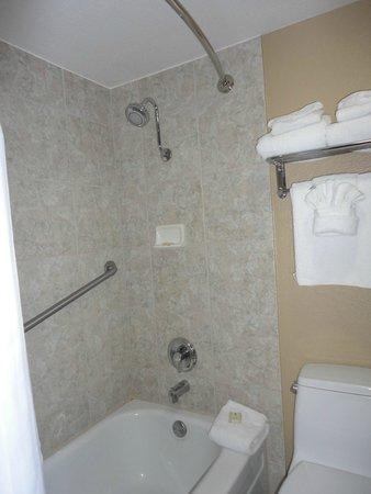 Best Western Plus Casino Royale: Clean shower
